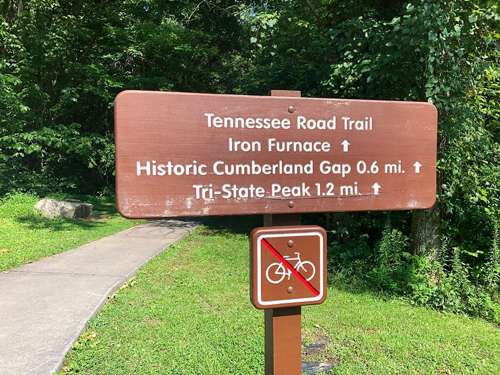 Cumberland Gap National Historical Park Tennessee Road Trail