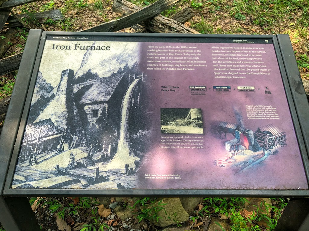 Iron Furnace at Cumberland Gap National Historical Park