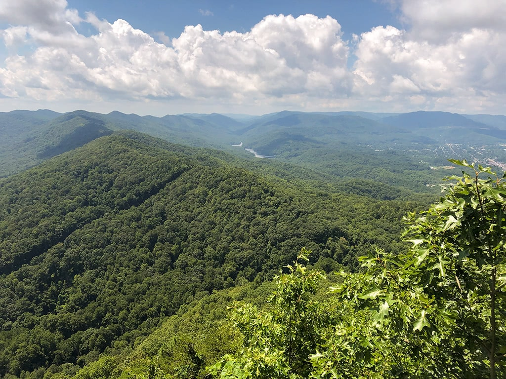 View at Cumberland Gap National Historical Park