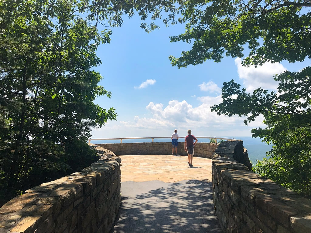 Cumberland Gap National Historical Park Pinnacle Overlook Walking Out