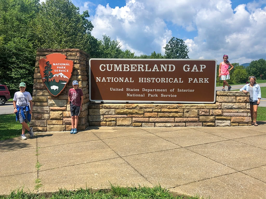 Cumberland Gap National Historical Park Family Picture