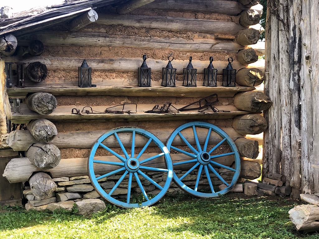 Wagon Wheels at Wilderness Road State Park
