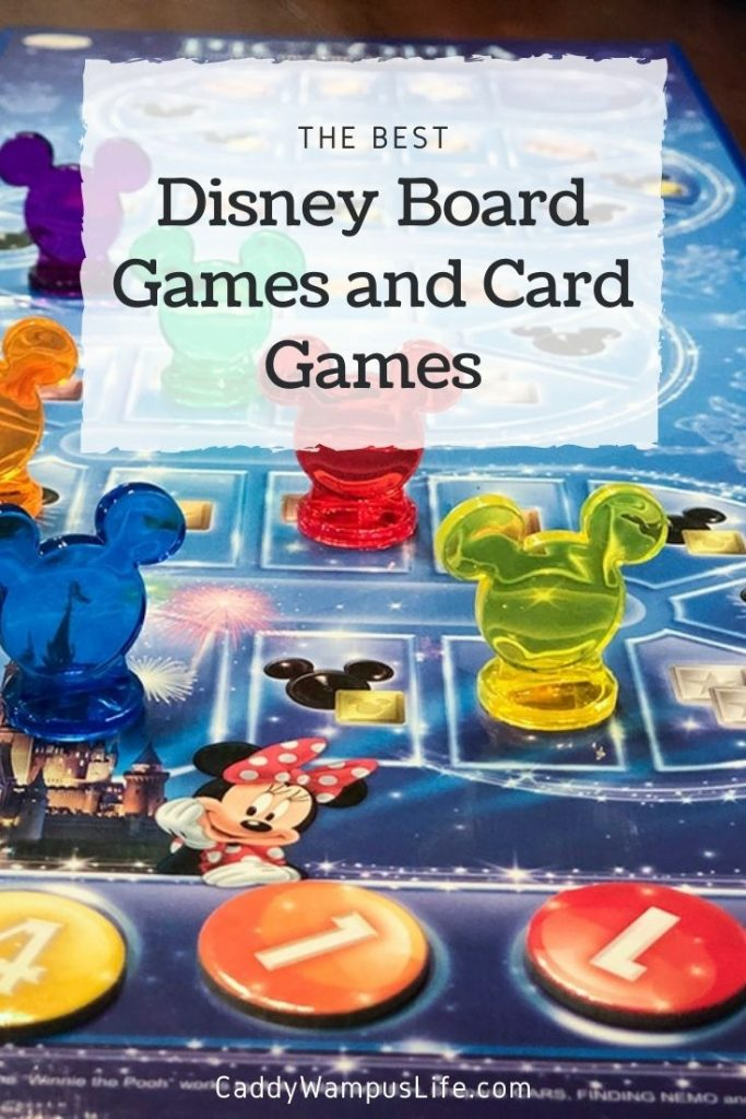 Disney Board Games and Card Games Pinterest