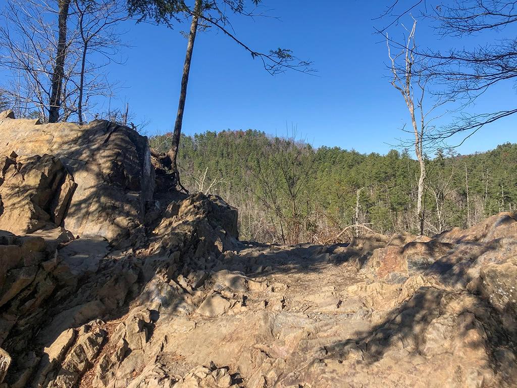 Abrams Falls Trail - Rocky area