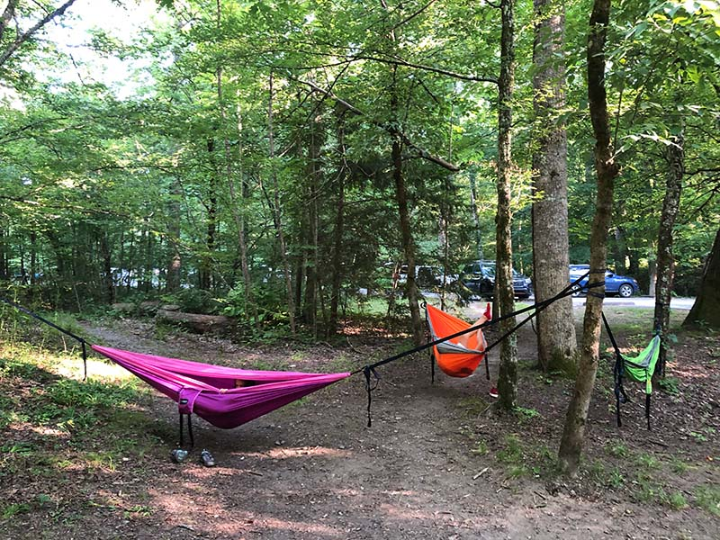 Take a Hammock to Metcalf Bottoms Picnic Area