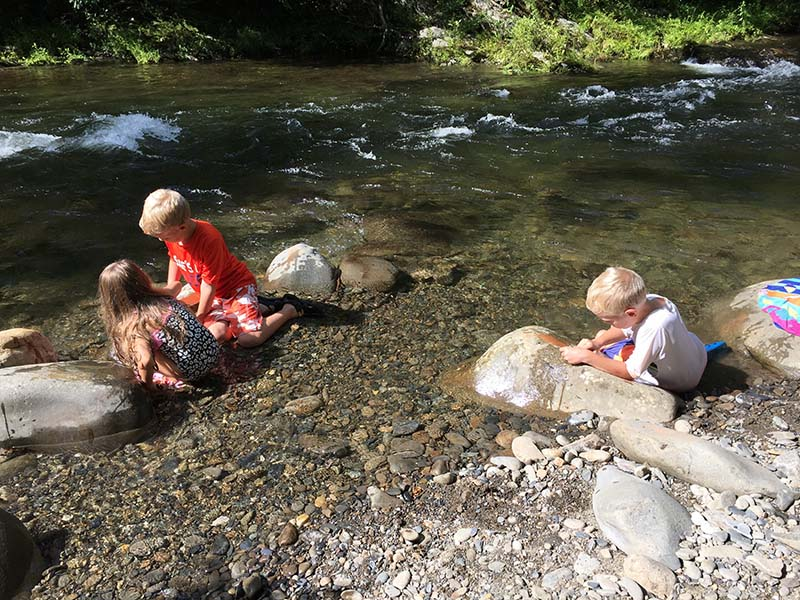 Play in the River at Metcalf Bottoms Picnic Area