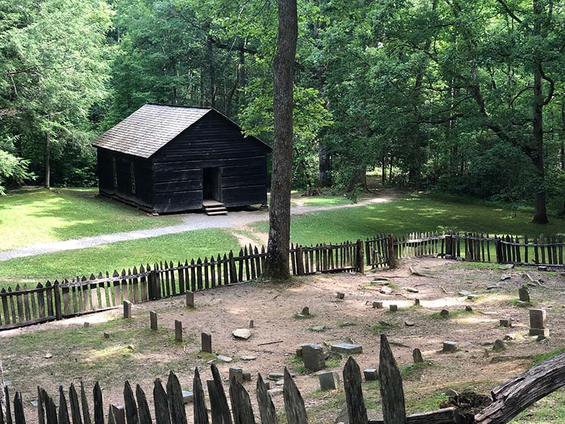 Hike to Little Greenbrier Schoolhouse from the Metcalf Bottoms Picnic Area