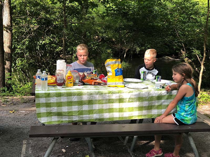 Have a picnic at the Metcalf Bottoms Picnic Area